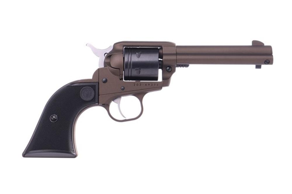 Ruger Wrangler 22LR Midnight Bronze 4.6